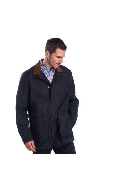 Barbour Adderton Wax Jacket Navy